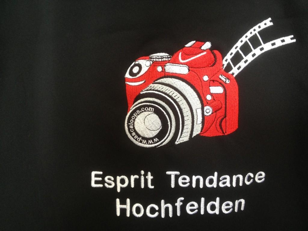 Veste brodée Photographe